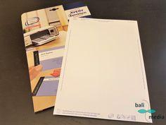 Zu Beginn einer Firmengründung möchte man mehrere Designs für Visitenkarten ausprobieren, bevor man diese in größerem Umfang in Druck gibt. Dabei helfen Vi