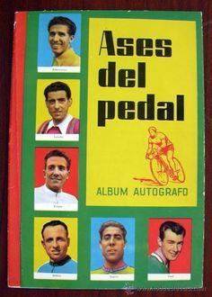 ASES DEL PEDAL - ÁLBUM AUTÓGRAFO - 1959 - NUEVO Y VACÍO (Coleccionismo Deportivo - Álbumes otros Deportes)