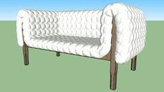 Collection of 3D Models: sofas