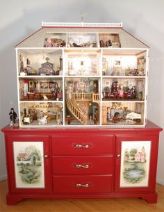 Doll House 1 12 One of A Kind Published in Miniature Collector Magazine | eBay