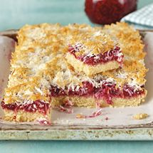 This delicious gluten free slice is like Louise Cake but the jammy filling is enriched with real fruit – a lovely improvement on the original. Its Gl...
