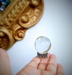 Magic Crystal Ball Miniature. Home Decor. Desk by MintMarbles