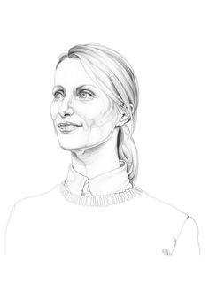Illustration - Carmen Garcia Huerta - The Mushroom Company - portrait
