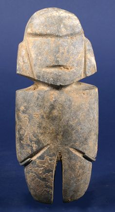 Standing Stone Figure - Mezcala, Mexico