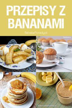 10 Prostych Przepisów z Bananem w Roli Głównej Hamburger, Pancakes, Cereal, Breakfast, Food, Diet, Morning Coffee, Eten, Hamburgers
