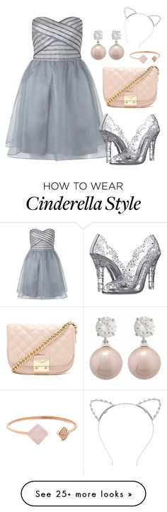 """Belle of the Ball"" by ghkbarbie on Polyvore featuring Lipsy, Dolce&Gabbana, Forever 21 and Michael Kors"