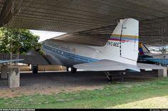 Douglas C-47DL Skytrain (YV-C-AKE, c/n 4705) of LAV at Museo Aeronautico of Maracay on Dec 1, 2007.