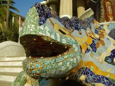Now you need to buy the entrance in advance or visit it with us, and we take care of all that. Gaudi, Entrance, Park, Entryway, Door Entry, Parks, Antoni Gaudi