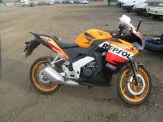 #Auction 2013 HONDA CBR 125 R- 125 cc, VIN No. MLHJC50AXC5