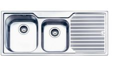5 Drainboard Sinks That Will Make You Love Drainboard Sinks: Oliveri Puro Series of Drainboard Sinks