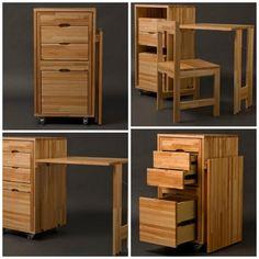 Sistemas modulares transformables para multiplicar el espacio y viven en el estilo. Sofás, estanterías, armarios, mesas plegables o convertibles en cama retráctil para maximizar el espacio. El prog…