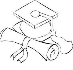 Dibujos de graduacin de preescolar para colorear  Imagui
