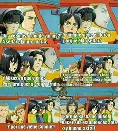 from the story Memes de Shingeki No Kyojin :D by AnyaLacroix (🥵) with reads. Anime Meme, Otaku Meme, Anime Chibi, Aot Memes, Funny Memes, Best Animes Ever, Pokemon, Attack On Titan Anime, Cool Pets