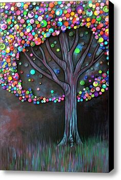 Button Tree by sweet.dreams