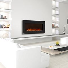 Napoleon 42″ Linear Wall Mount Electric Fireplace – EFL42