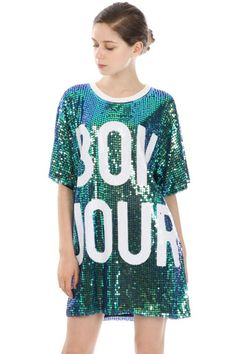 SEQUIN SHIFT DRESS STYLE #: 1505180030