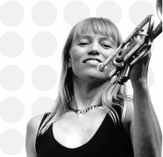 Saskia Laroo, jazz trumpeter known as Lady Miles Davis.