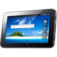 Samsung 7 Inch P1010 - 16GB WIFI Only Tablet with Docking Station and 16GB MicroSD Card, 16, standard white
