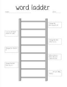 18 best word ladders images in 2013 word ladders word study phonics words. Black Bedroom Furniture Sets. Home Design Ideas