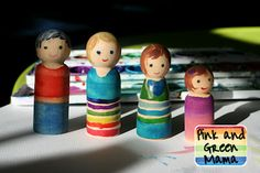Peg Doll Family (use in block area?)