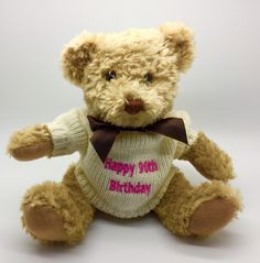 Happy Birthday Bears are a great gift idea for any age! www.sayitwithbears.co.uk/bears/birthdaybears Happy Birthday Bear, Personalised Teddy Bears, Great Gifts, Age, Toys, Animals, Personalized Teddy Bears, Activity Toys, Animales