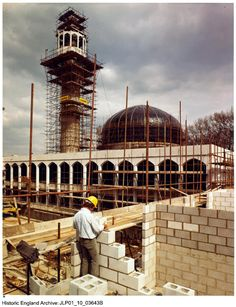 Historic England Archive Content Has Moved Central Mosque, Greater London, Cultural Center, Mosques, Islamic, Centre, British, England, Construction