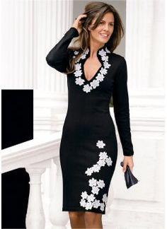 Vestido curto floral com blazer