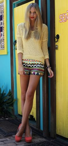 Summer Trend to Try: Printed Shorts
