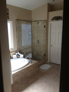 Our clients love having a groutless shower!