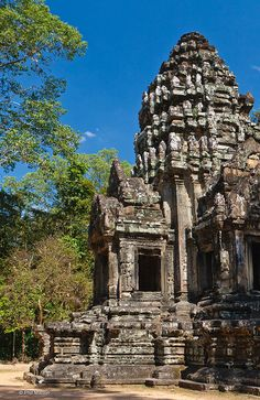 Temple inside Angkor Wat, Cambodia