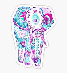 Pegatina Elephant tumblr