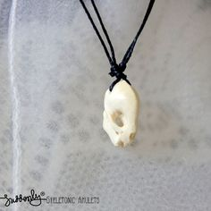 Bat Skull Pendant via Suddenly. Click on the image to see more!