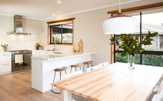 Scandi Kitchen on Kinnane - contemporary - Kitchen - Melbourne - White Elk Interiors