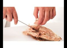 This Thanksgiving, you'll actually know what you're doing with that carving knife. Carving A Turkey, Baked Turkey, Thanksgiving Turkey, Fall Decor, Chicken Recipes, Baking, Eat, Desserts, Photos