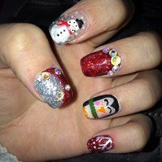 Still not over my nails!  #nails #uñas #nailart #naildesigns #nailpromote #nails2inspire #beauty #penguin #instanails #art #acrylicnails #snow #shiny #snowman #snowflake #swarovski #ShowMeTheMani #fashion #glitter #holidaynails #hudabeauty #anastasiabeverlyhills #happy #love #christmasnails #mani #rhinestones http://decoraciondeunas.com.mx #moda, #fashion, #nails, #like, #uñas, #trend, #style, #nice, #chic, #girls, #nailart, #inspiration, #art, #pretty, #cute, uñas decoradas, estilos de ...