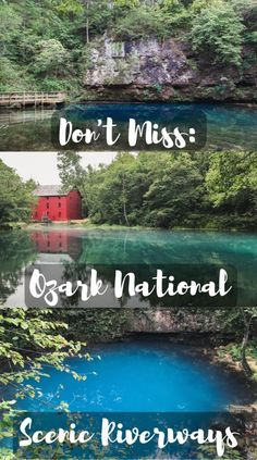 The Ozark National Scenic Riverways is located in Southern Missouri and it is stunning.