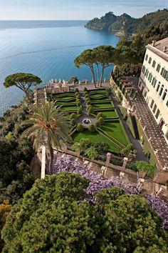 La Cervara - Abbazia di San Girolamo al Monte di Portofino, Italy