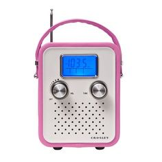 Crosley Songbird Portable Radio. #shopko #bestroomever2016