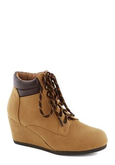 I Think You Know Wyoming Bootie, #ModCloth