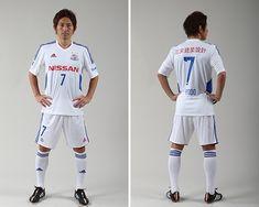 Yokohama F. Marinos / 横浜F・マリノス (J1) 2015 adidas Cup Away (Manabu Saito)