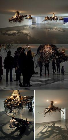 Humus 2012 by Giuseppe Licari ( http://www.juxtapoz.com/Current/roots-from-above-qhumusq-by-giuseppe-licari )