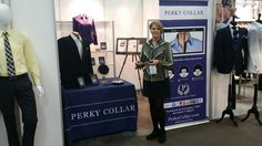 My first interview about how the Perky Collar works. This was shot at the Trade Show Magic in Feb. 2016.  https://m.youtube.com/watch?v=1XNoOxIWaqQ&feature=youtu.be