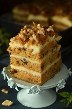 Polish Recipes, Polish Food, Vanilla Cake, Cheesecake, Baking, Sweet, Cakes, Crochet, Fit