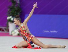 Arina Averina (Russia), European Championships 2018