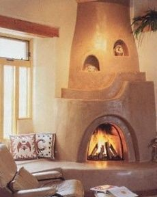 kiva fireplace - I like the depth of the hearth making a seating area