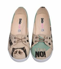 DOGO shoes Grumpy Cat €59,-