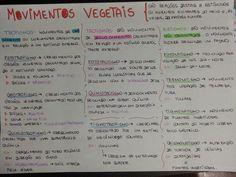 EU ESCOLHI ESTUDAR: Movimentos Vegetais