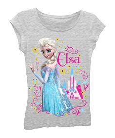 Rei.  Heather Gray 'Elsa' Castle Tee