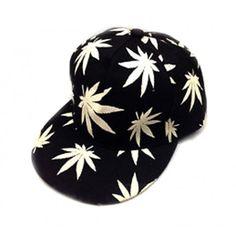 74b708b999c16 www.tienda-gorras.com Gorra Plana Marihuna - Snapback Hat Se ilumina de  noche