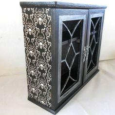 skull cabinet